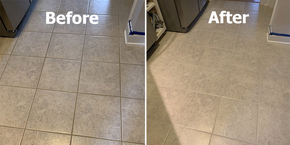 Tile And Grout Repair Before After, Bathroom Grout Repair